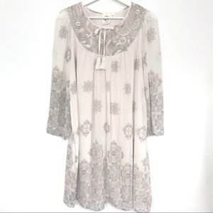 Anthropologie Donia Peasant Dress One September XS